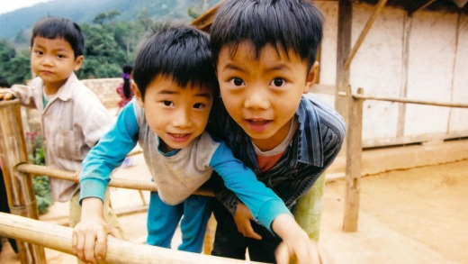 Children in northern Vietnam.