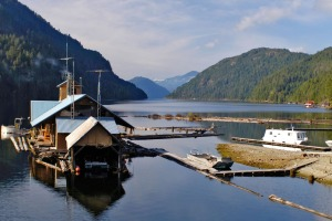 Among the many wonders of Vancouver Island are the floating houses.