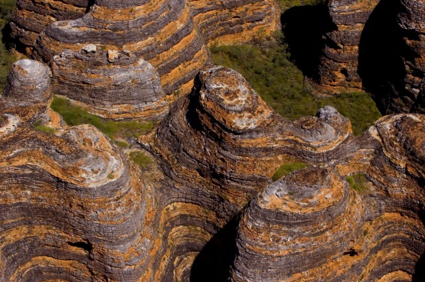 Aerial view of the Bungle Bungles.