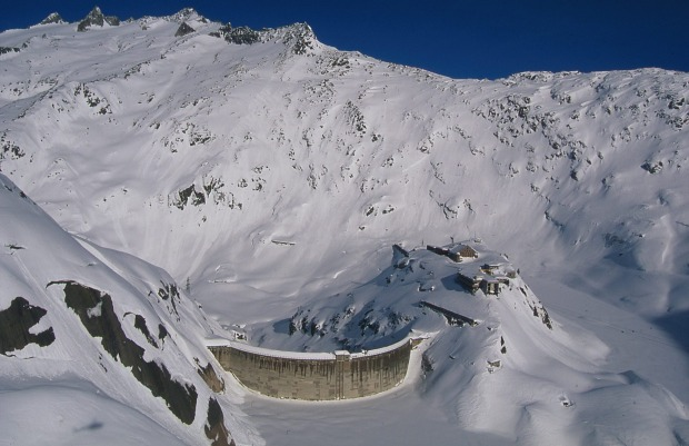 GRIMSEL HOSPIZ, GUTTANNEN: The name and the location suggest an institution run by an evil genius from a James Bond ...