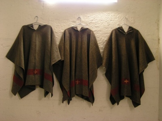 Post-apocalyptic-style robes in the former Null Stern.