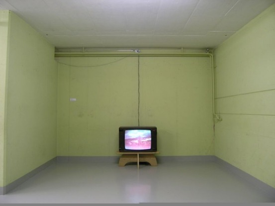 Television at Null Stern, now a museum.