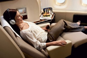 Forty airlines, including Singapore, Etihad, and Virgin Atlantic, are now offering up premium seats for auction through ...