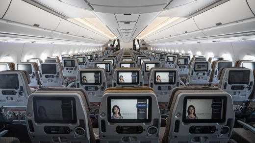 The number of passengers travelling on aircraft in any particular month is a fair indication of what your seat is going ...