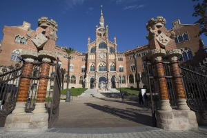 Sant Pau: Not yet on the mass tourism path.