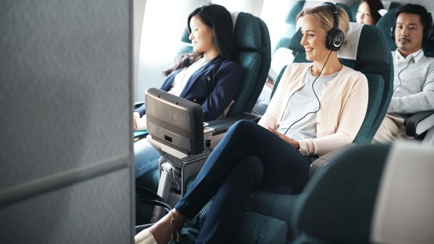 Airline Review Cathay Pacific Premium Economy