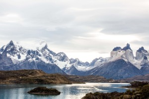 A land of glaciers and lakes in Chile's Patagonia.