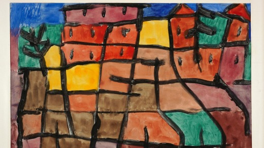 'Untitled' by Klee, part of the Fisher Collection.