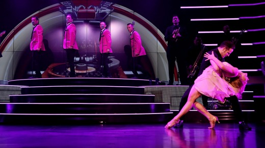 """Human Nature perform during the launch of their new show """"Jukebox"""" at The Venetian."""