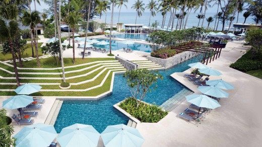 Swimming pool paradise at Outrigger Laguna Phuket Beach Resort.