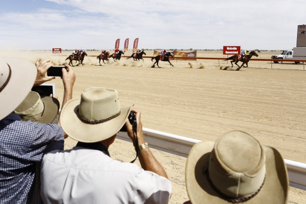 THE BIRDSVILLE RACES: The Birdsville Races swells the population but the area is teeming with life for those who know ...