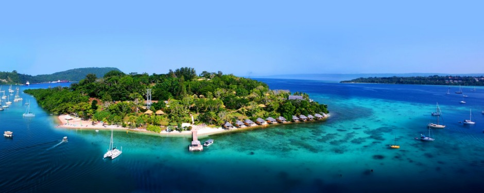 Iririki Island Resort & Spa.