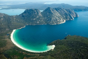 Wine Glass Bay Freycinet National Park, Freycinet Peninsula.