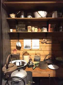 The sleeping quarters in Mawson's Huts Replica Museum.