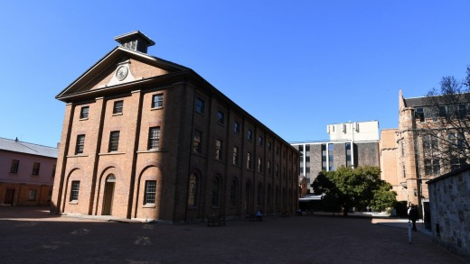 Hyde Park Barracks, designed by Francis Greenway.