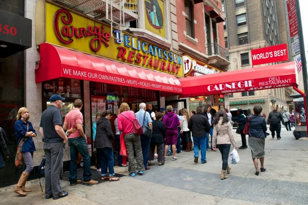 Carnegie: Named after nearby Carnegie Hall, this long-standing establishment is almost as famous as its namesake, ...