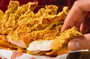 Popeye's fried chicken.