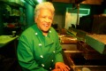 Long-standing and respected chef Leah Chase at Dooky Chase's restaurant in New Orleans.