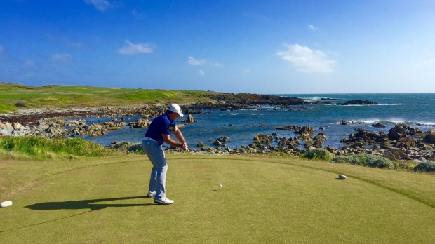 Each tee-off at Ocean Dunes and Cape Wickham requires a deft touch across some of King Island's most rugged coastline.