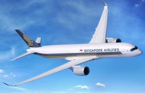 Singapore Airlines Airbus A350-900.