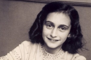 Anne Frank kept a diary while hiding with her family in a secret annexe during World War II.