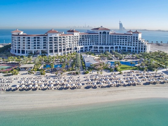 Waldorf Astoria Dubai Palm Jumeirah. Like most things in Dubai it's bright, it's shiny, and it's built on a scale that's ...
