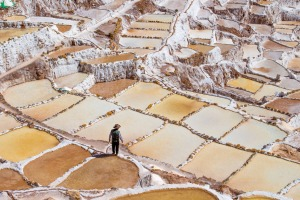 Salt mines in Maras by Glen Bishop.?Finalist for the Traveller Big Picture Competition August 2016. *READER IMAGE DO NOT USE