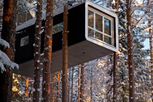 Sensational suspension: Treehotel, Lulea, Sweden.
