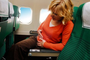 Sick passengers can easily pass on their illnesses.