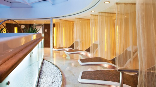 Spa on Seabourn Sojourn.