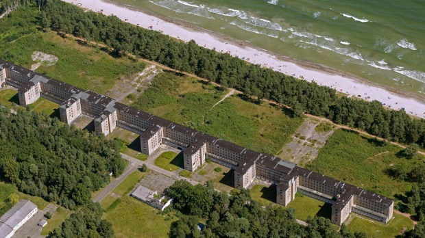 Prora germany nazi holiday resort to be transformed into for Nazi holiday resort
