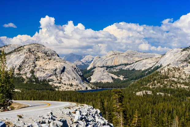 Tioga Pass is a mountain pass in the Sierra Nevada mountains. State Route 120 runs through it, and serves as the eastern ...