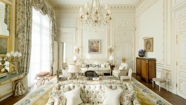 Windsor Suite Windsor At The Ritz Paris.