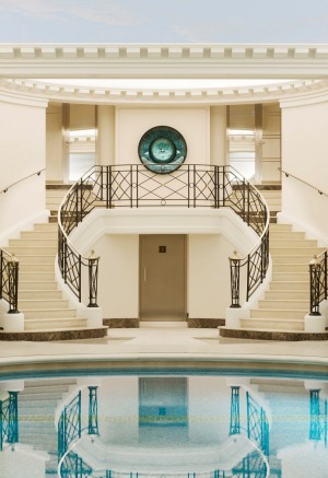 The Ritz Club: The indoor pool is dubbed the finest in Paris.