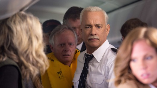 Director Clint Eastwood captures the chaos felt by all during catastrophic events in Sully, which stars Tom Hanks.
