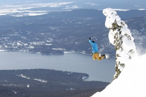 Whitefish, Montana, offers amazing bowl and tree skiing.