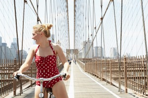 Head to the beach in New York during August to avoid its unbearable humidity.
