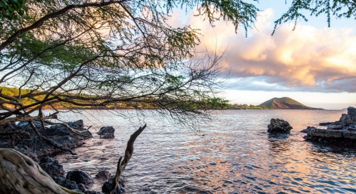 A tranquil scene at Makena Bay.