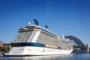 Celebrity Solstice will arrive in Sydney again on October 8.