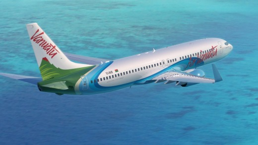 Air Vanuatu offers direct flights from Brisbane to the Vanuatu island of Espiritu Santo once a week.