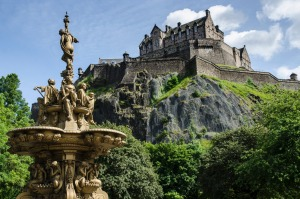 Visit Edinburgh Castle, in Scotland, on a Trafalgar's Castles and Kilts tour.