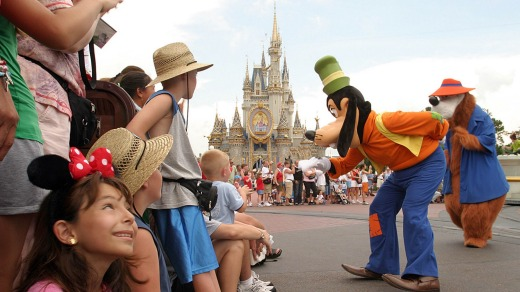 The Orlando destination is best known for its  Disney World theme park.