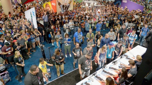The queues can be huge at Comic-Con.