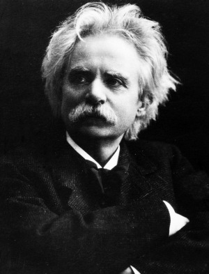 Norwegian composer and pianist Edvard Grieg.