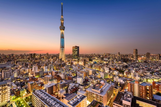 Tokyo, Japan: The Land of the Rising Sun has become increasingly popular with Australians.