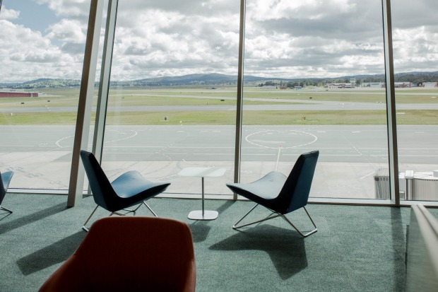 Canberra's new international terminal officially opened on Friday morning.