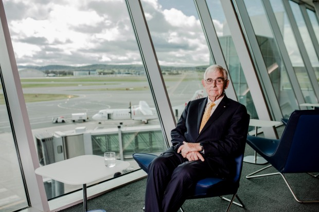 The Chairman of Capital Airport Group, Terry Snow.
