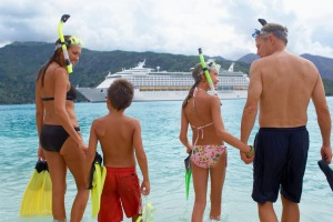 Family cruising: With a wealth of choices, you can find a cruise to suit your budget.