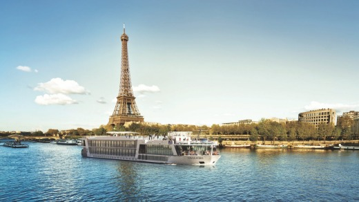 After cruising the Seine, the AmaLegro handily docks in the heart of Paris.
