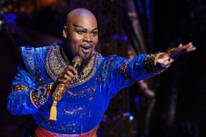 Michael James Scott as the utterly captivating Genie.